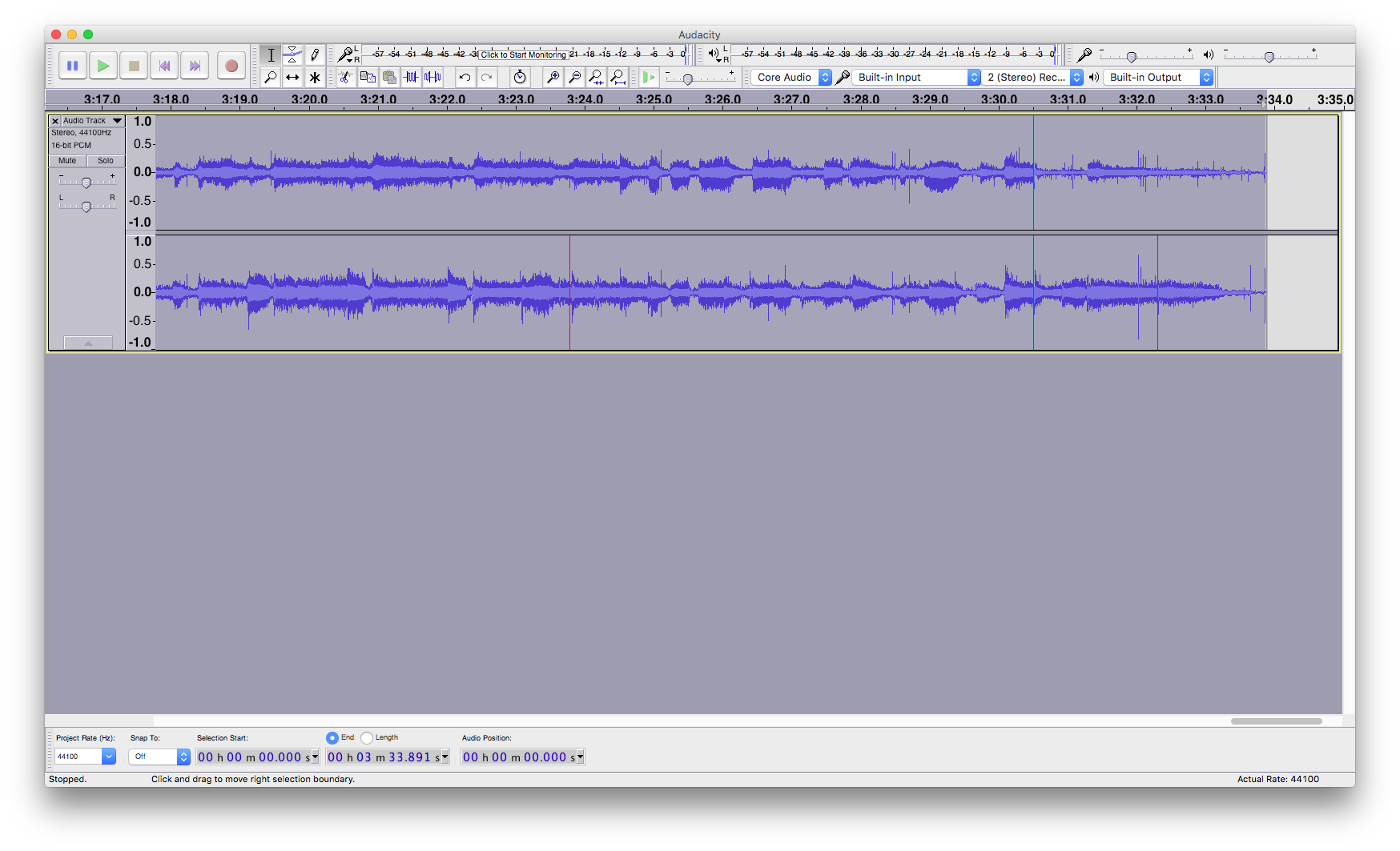 how to stop clipping in audacity